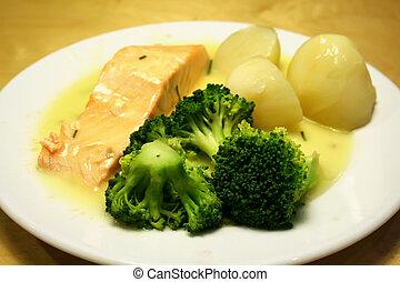 bistecca salmone