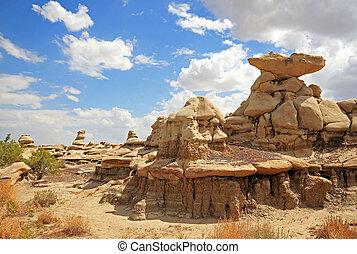 Bisti Badlands (De-Na-Zin Wilderness), New Mexico, USA