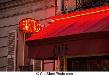 bistro, parisian