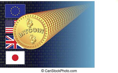 bitcoin, achtergrond