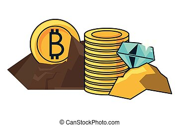 Bitcoin transactions Vector Clip Art Royalty Free. 4,142 Bitcoin transactions clipart ...