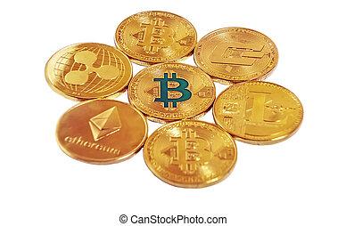 Bitcoin BTC, Ripple XRP, Ethereum ETH, Dash, Litecoin LTC ...