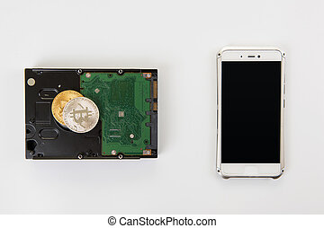 Bitcoin coin with HDD