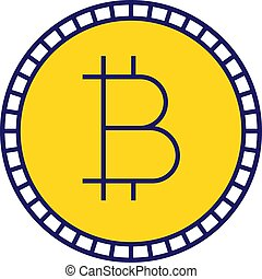 Bitcoin color icon
