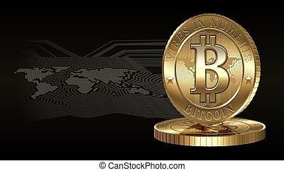 bitcoin, concept