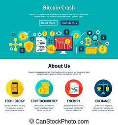 Bitcoin Crash Website Design