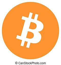 Bitcoin crypto - Vector illustration Bitcoin crypto...