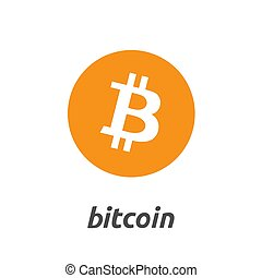 Bitcoin Cryptocurrency Coin Sign Isolated