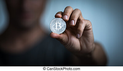 Bitcoin - Cryptocurrency concept