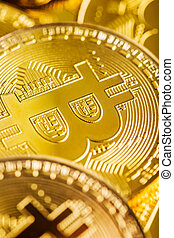 bitcoin., cryptocurrency., digitale