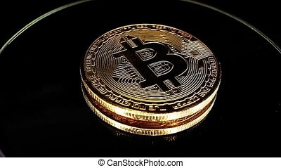 Bitcoin cryptocurrency sign symbol