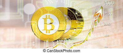bitcoin, diagramme
