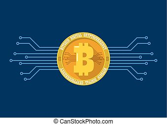 Bitcoin digital cryptocurrency