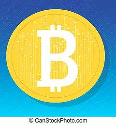 Bitcoin. Digital