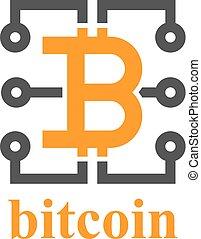 bitcoin electronic circuit symbol