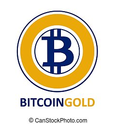 Bitcoin Gold Sign