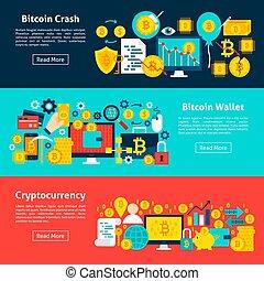 Bitcoin Horizontal Banners