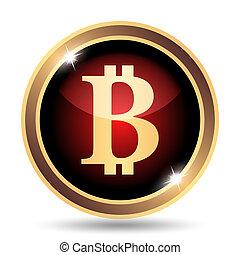 bitcoin, icône