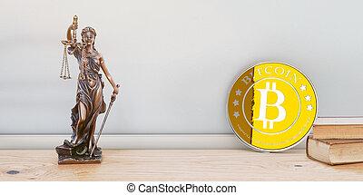 bitcoin, igazságosság, és, törvény