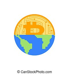 Bitcoin is future of earth. Digital world. BTC Absorption of...