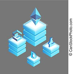 Bitcoin Litecoin, Ethereum Ripple and Dogecoin - Bitcoin and...