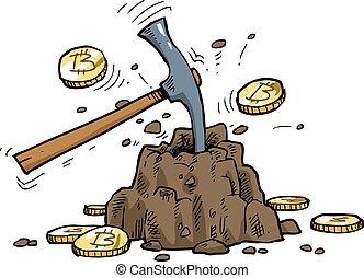 bitcoin, minería