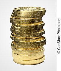 bitcoin, pile