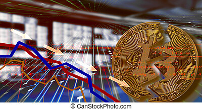 Bitcoin. Stock market crash Exchange rate depreciation.