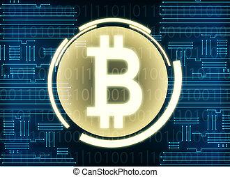 bitcoin, toile de fond