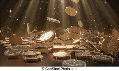 bitcoins, tomber, tas