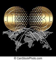 bitcon, concept
