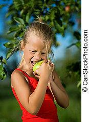Bite into the apple