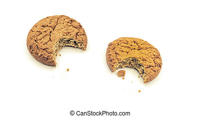 biten, biscotti, bianco, farina avena