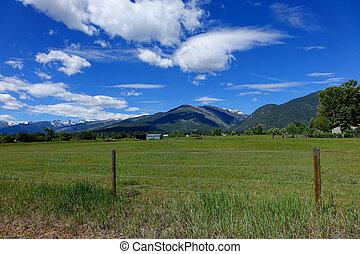 Bitterroot Mountains - Montana - Bitterroot Mountains and...