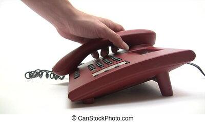 biuro, rozmowa telefoniczna