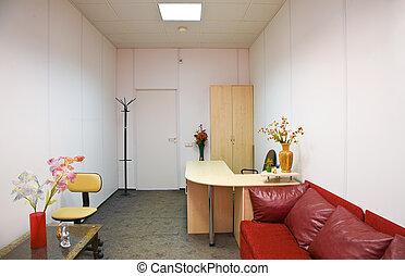 biurowe wnętrze, pokój
