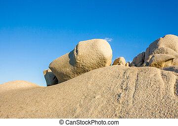 Capo Testa - bizarre rocks at Capo Testa, Sardinia, Italy