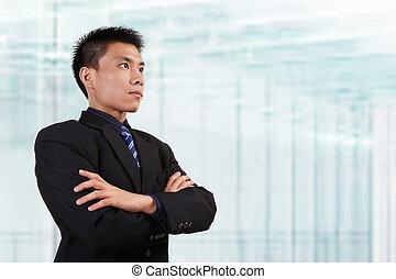 biznesmen, chińczyk