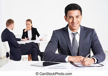 biznesmen, praca