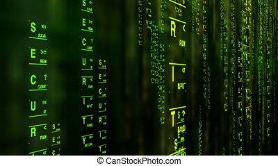biztonság, adatok, matrica, mód, fogalom