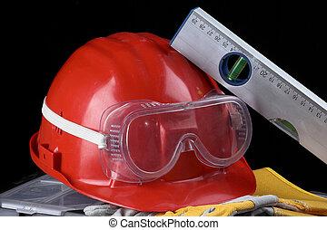 biztonság bekapcsol, felszerelés