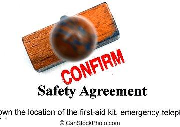 biztonság, egyezmény