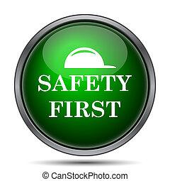 biztonság első, ikon