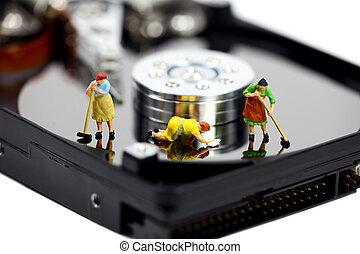 biztonság, fogalom, számítógép
