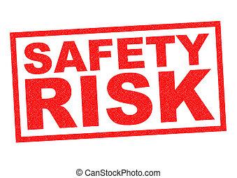 biztonság, kockáztat