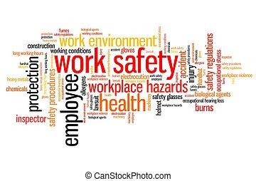 biztonság, munkában