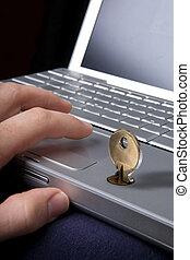 biztonság, számítógép