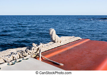 biztonsági felszerelés, képben látható, a, csónakázik