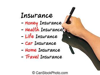 biztosítás, fogalom