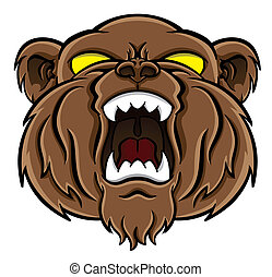 björn, ansikte